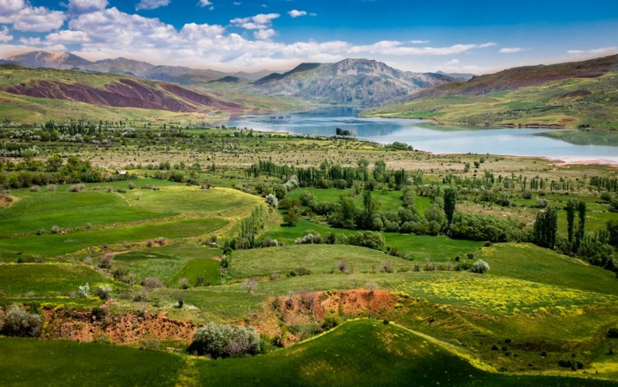 photo couleur paysage de Turquie